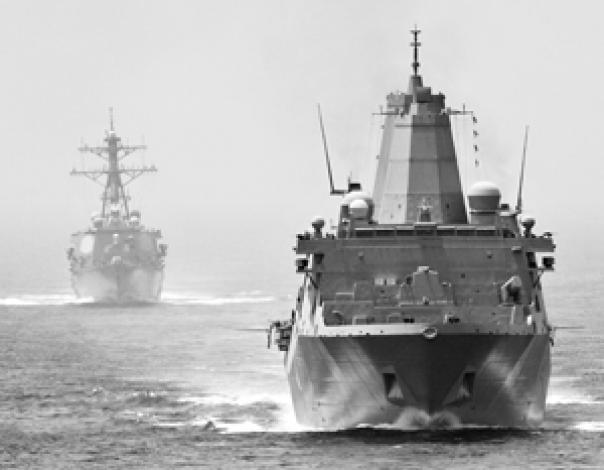 Эсминцы ВМС США уже в Персидском заливе