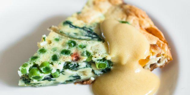 Чем заменить майонез в горячих блюдах: Творожный соус