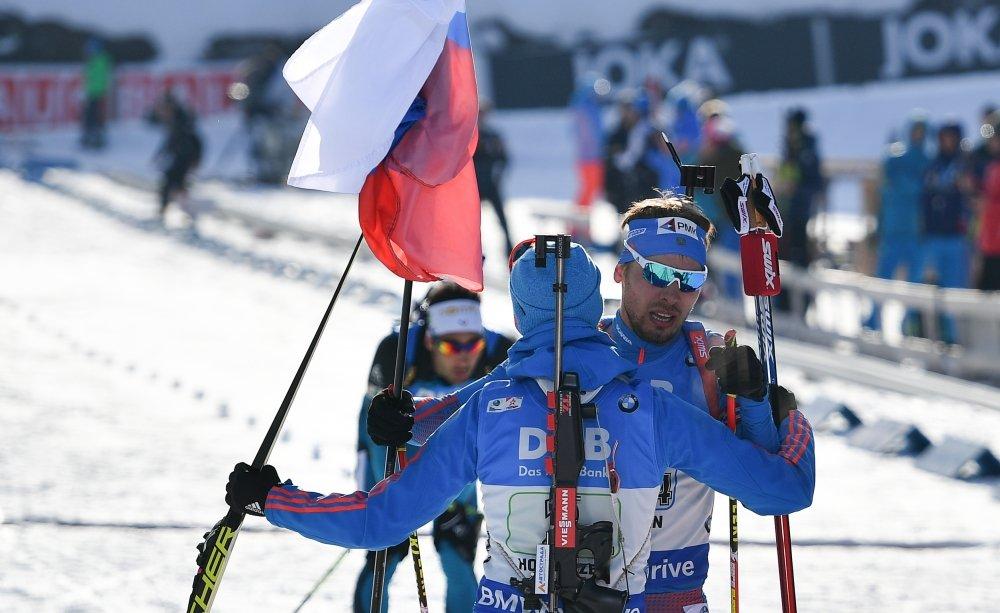 Организаторы Чемпионата мира по биатлону на церемонии награждения перепутали гимн России