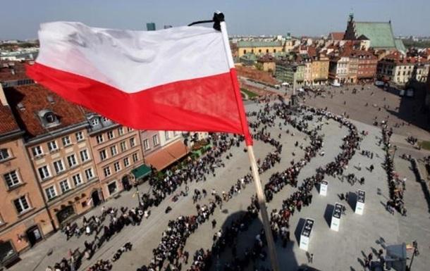 По всей Польше начались обла…