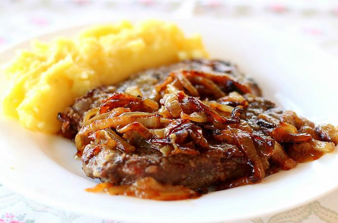 Жареная говядина по-шатцкеровски