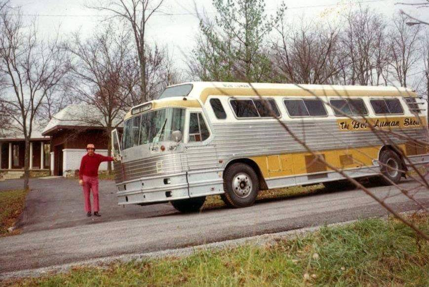 bob lumans tour bus 50's Flex