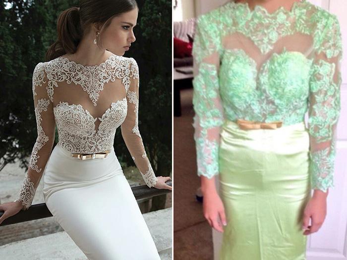 И правда горько: как выглядят свадебные платья с AliExpress