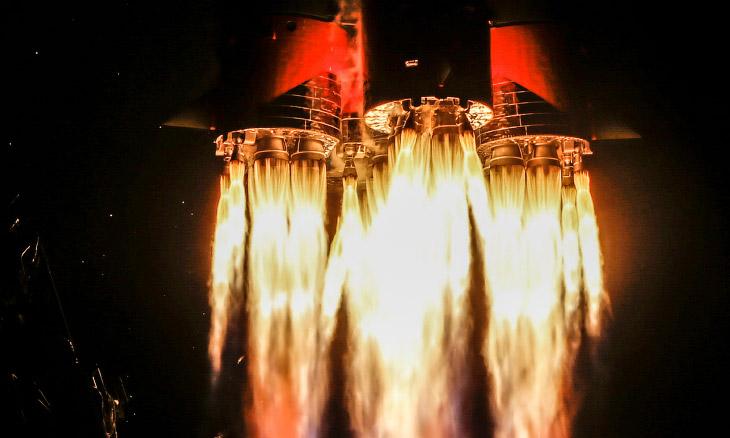 Старты космических кораблей в фотографиях