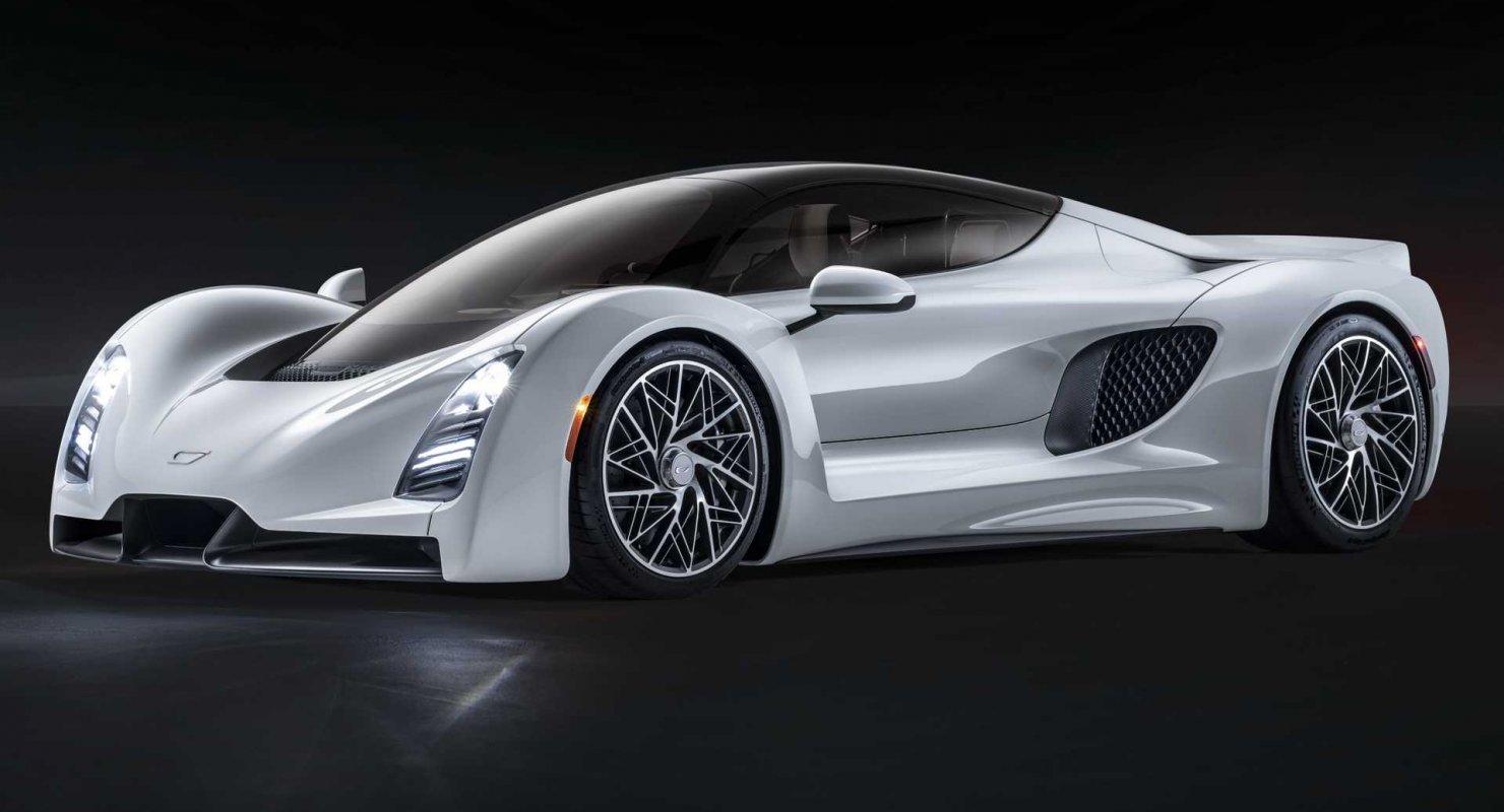 Американцы создали ответ Bugatti Chiron Автомобили
