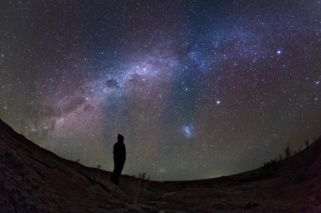 В Австралии студент создал приложение, которое позволит слабовидящим наблюдать за звездами