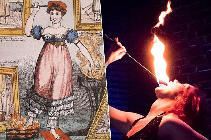 Джо Жирарделли: история пожирательницы огня