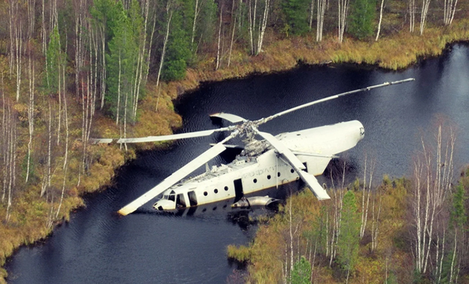 Вертолет лежит в болоте уже 40 лет и его можно достать: историю МИ-6 рассказал техник Культура