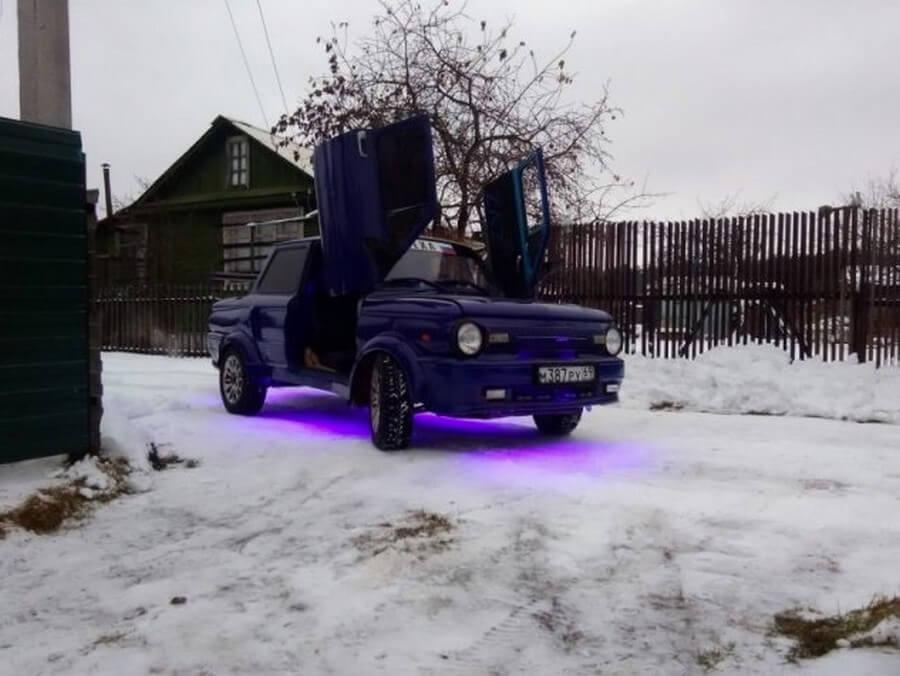 """""""Запорожец"""": глобальный тюнинг от тверского умельца авто и мото,автосамоделки,тюнинг"""