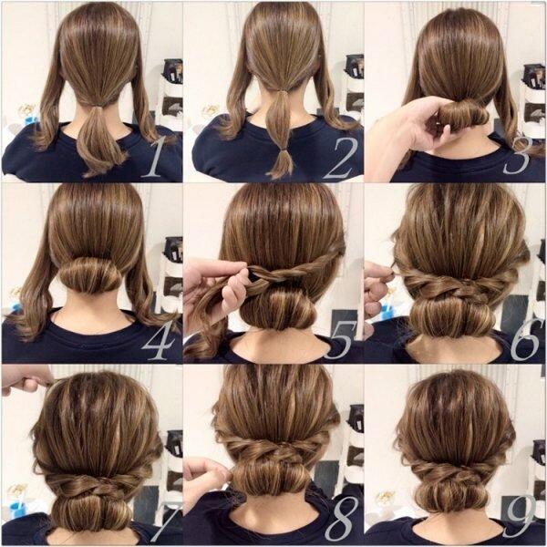 5 быстрых причесок на длинные волосы, которые легко сделать без парикмахера