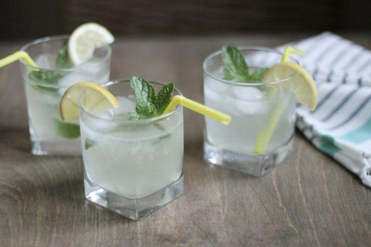 шипучий лимонад