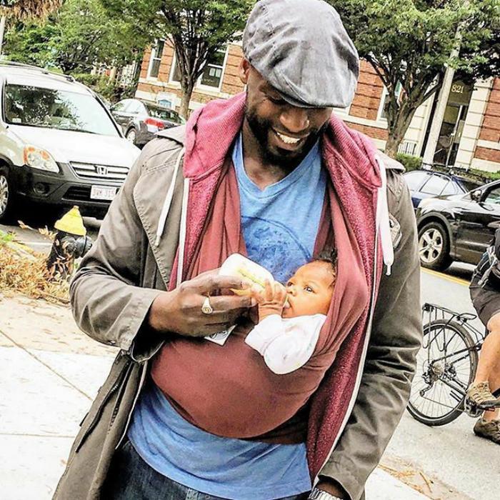Папа и его маленький босс Любовь, дети, младенцы, нежность, отцы, отцы и дети, родители, фото