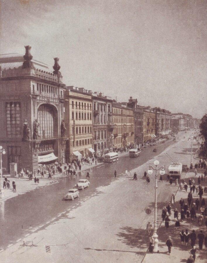 Невский проспект. 1955 год, СССР, история, ленинград, факты