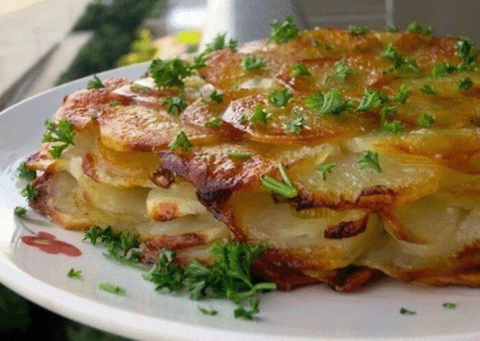 Картофель «Анна» — классическое французское блюдо