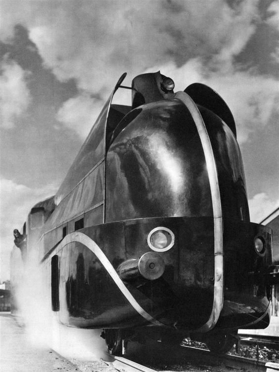 Локомотив, 1935 год вагоны, железнодорожные, изобретения, поезда, рельсы, факты, фантазии