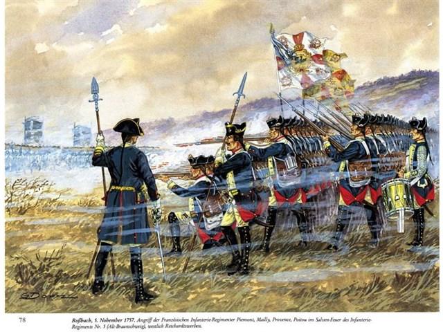 Как прусская пехота стала лучшей в Европе армия,история