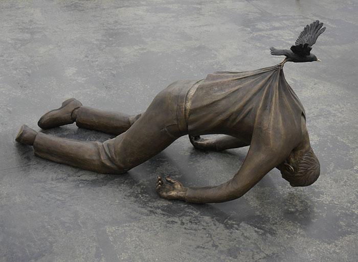 33 скульптуры, которые ставят под сомнение законы физики Живопись,Архитектура,Фотография