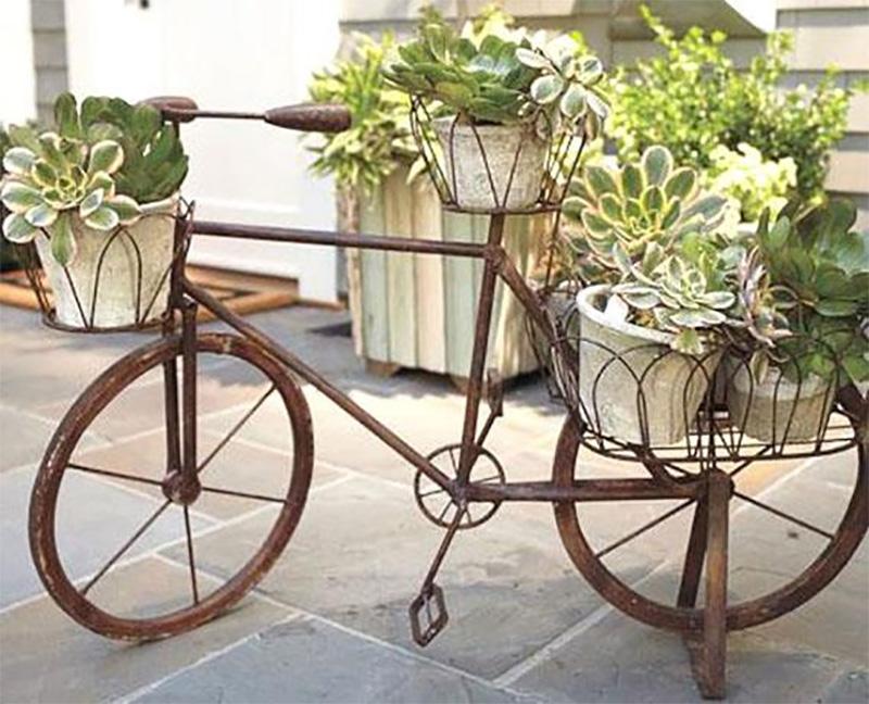 Оригинальные идеи для украшения сада