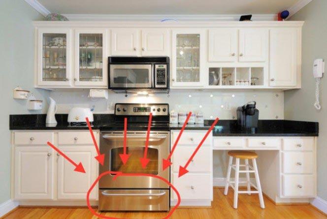 Оказывается, мы все время использовали выдвижной ящик под духовкой неправильно!