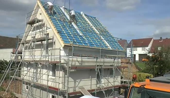 Один день – один дом: как в Германии строят особняки всего за сутки