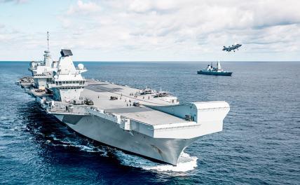 Британия снова хочет пальнуть по Севастополю с моря вмф