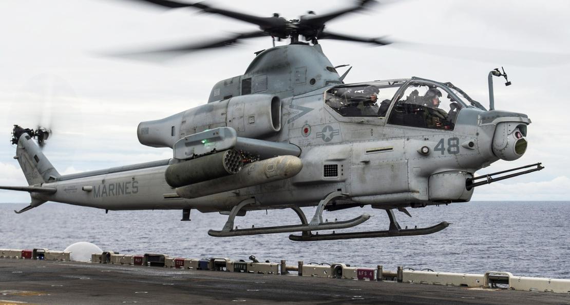 Американские вертолеты Bell повысят мобильность морской пехоты Южной Кореи ввс