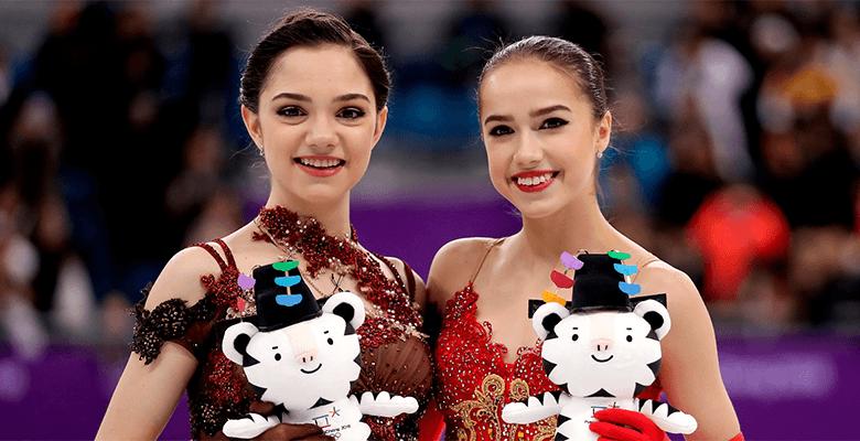 Алина Загитова и Евгения Мед…