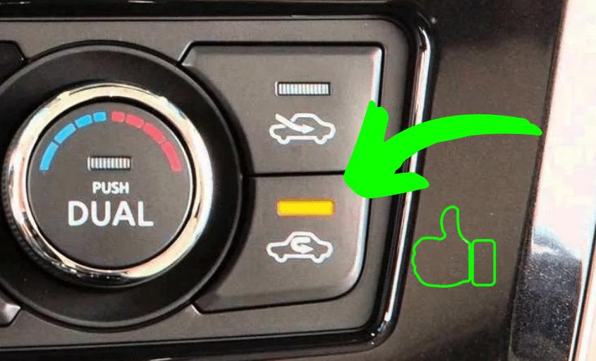 Водители не пользуются рециркуляцией воздуха. Вот 3 её полезные функции авто и мото,автоновости