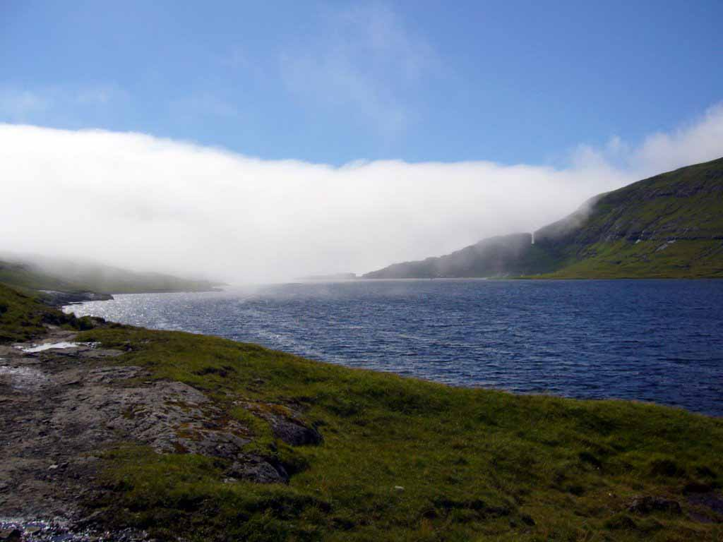Висящее озеро Сорвагсватн путешествия