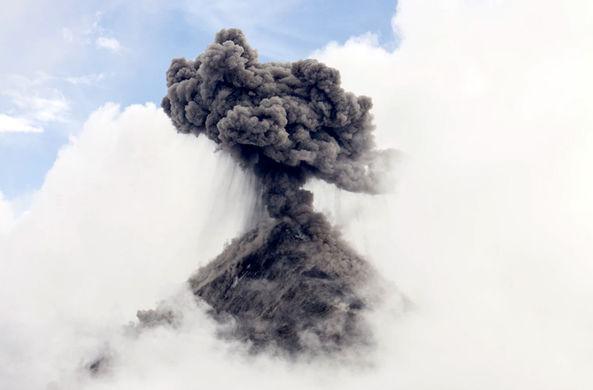 Современные вулканы рассказывают о рождении Земли