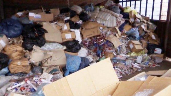 В Запорожье обнаружен склад с человеческим «мусором»