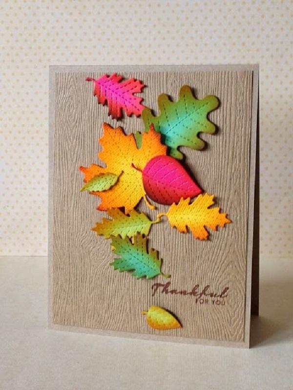 осенние открытки для детей