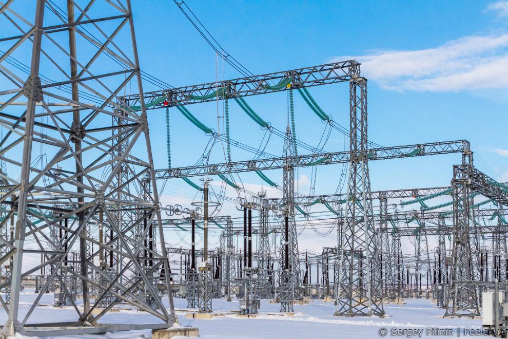 Как устроена электроподстанция
