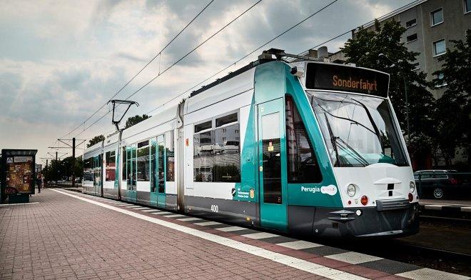 В Германии появился первый в мире трамвай-беспилотник