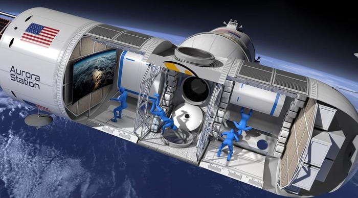Космический орбитальный отель появится в 2022 году