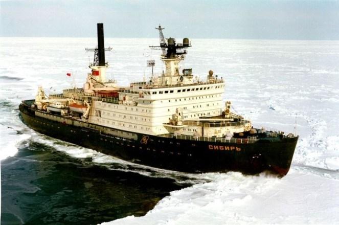 Семь советских атомных ледоколов