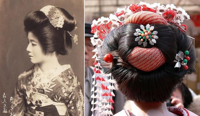 Прическа гейши: исчезающее искусство традиционной японской укладки волос