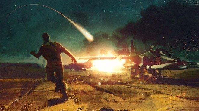 Видео перехвата ракеты «Томагавк» в небе над Сирией появилось в Сети