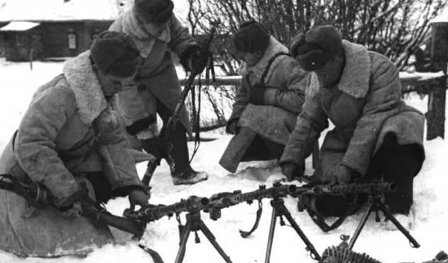 Использование трофейных немецких пулемётов в СССР оружие