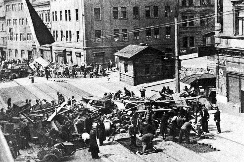 false 1945 год, 5-9 мая, Пражское восстание, война