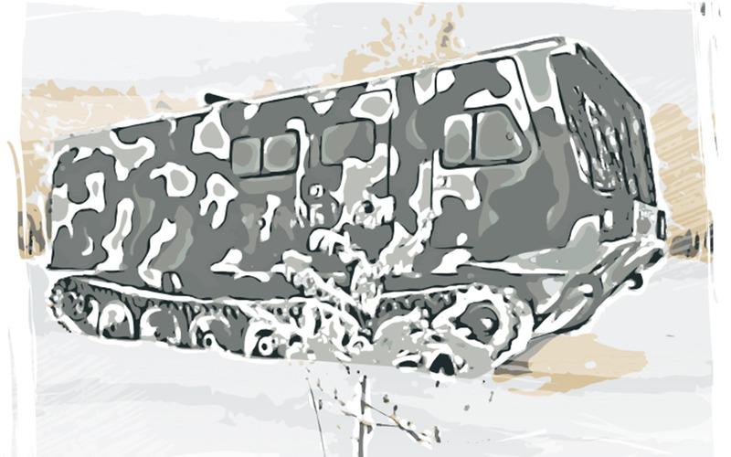 Brabus по-русски: из запчастей Минобороны авто