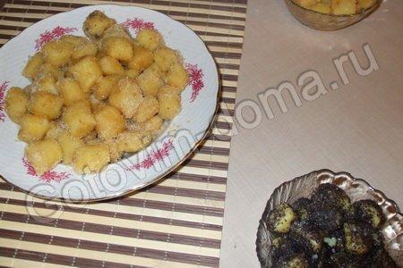 Вторые блюда-  Гомбовцы из картофеля (Hombovci)