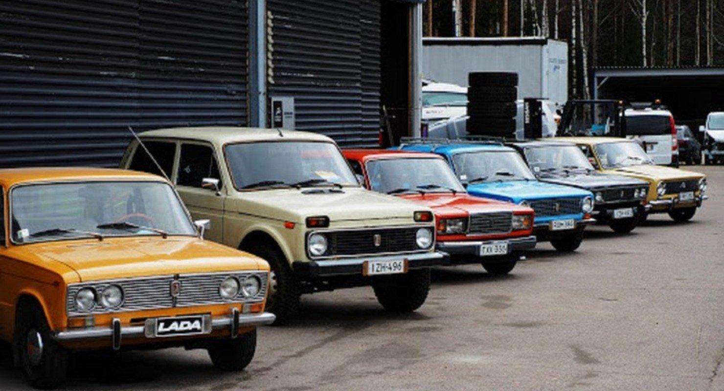 В Финляндии запустился прокат советских «Жигулей» Автомобили