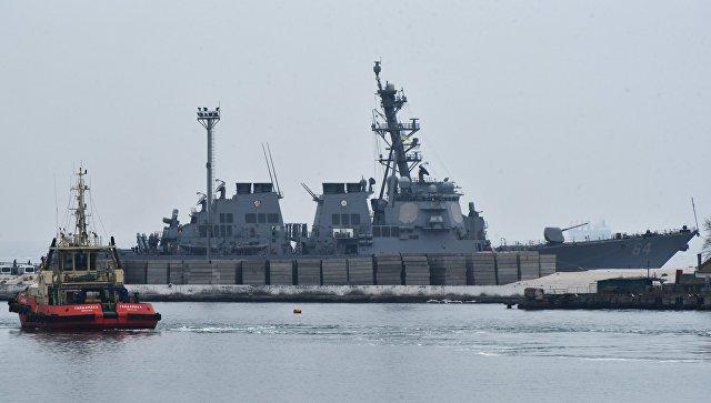США испытали в Черном море новую боевую электронику
