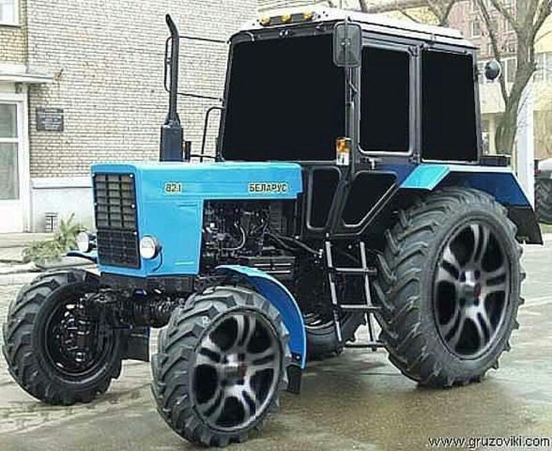 посещал тюнинг тракторов картинки делиться