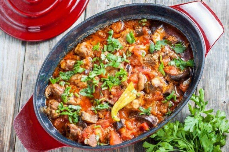 20 быстрых рецептов соте из баклажанов кулинария,овощные блюда