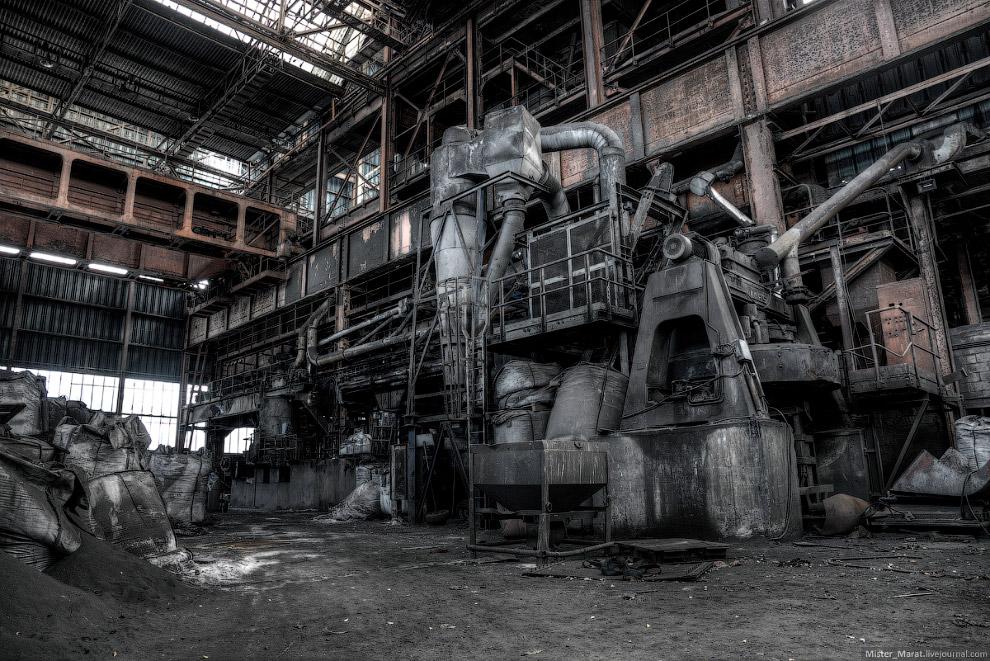 свидетельствует, что смотреть фото заброшенных заводов она