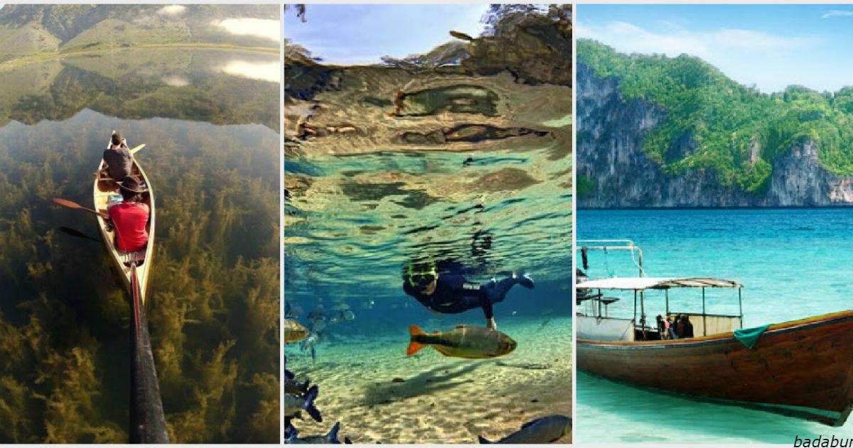 13 мест на планете, которые Бог наделил самой чистой водой