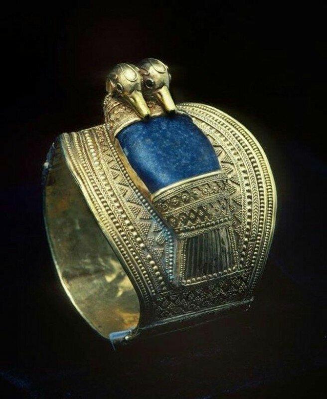 Браслет Рамзеса II, 1279—1213 гг до н. э. история, ретро, фото