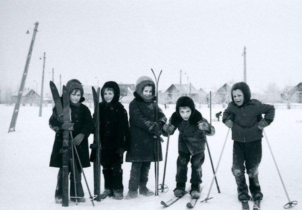 Урок физкультуры. Ульяновск, 1967 год СССР, детство, ностальгия, подборка